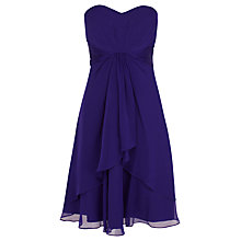 Buy Coast Michegan Short Dress, Purple Online at johnlewis.com