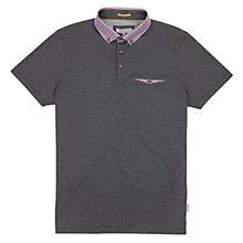 Buy Ted Baker Outchek Collar Short Sleeve Polo Shirt Online at johnlewis.com