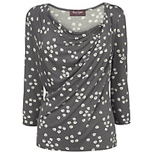 Buy Phase Eight Fig Leaf Top, Grey/Ivory Online at johnlewis.com