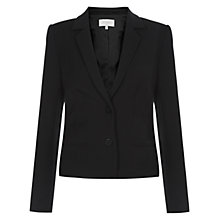 Buy Hobbs Annie Jacket, Black Online at johnlewis.com