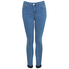 Buy Miss Selfridge Ultra Soft Jeans, Bleached Denim Online at johnlewis.com