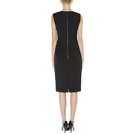 Buy Hobbs Annie Dress, Black Online at johnlewis.com