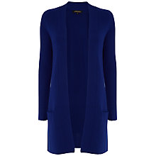 Buy Jaeger Swing Hem Cardigan, Blue Online at johnlewis.com