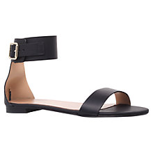 Buy Kurt Geiger Lace Leather Ankle Strap Sandals Online at johnlewis.com