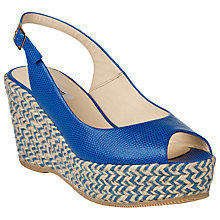 Buy L.K. Bennett April Leather Slingback Sandals Online at johnlewis.com