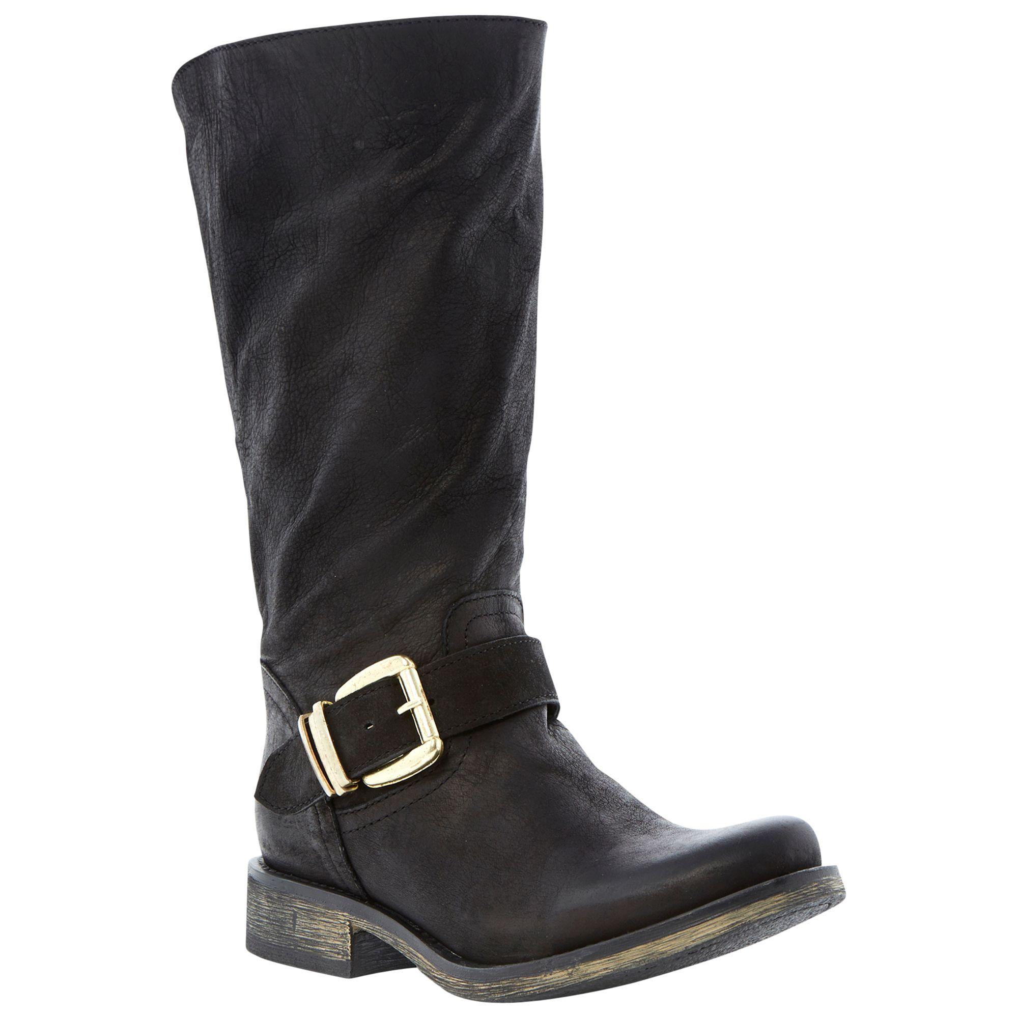 Steve Madden Fyzzle Knee Boots, Black