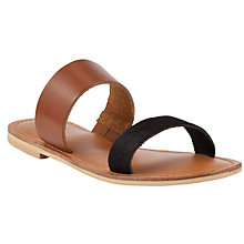Buy Collection WEEKEND by John Lewis Jersey Two Strap Sandals Online at johnlewis.com