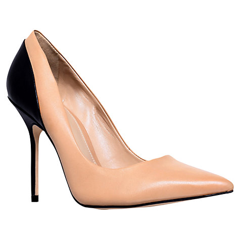Buy Carvela Ghecko Court Shoes, Black Online at johnlewis.com