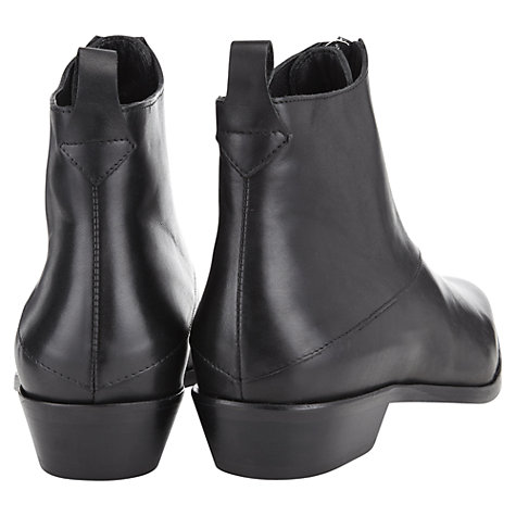 Buy Whistles Marisa Ankle Boot, Black Online at johnlewis.com