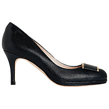 Buy L.K. Bennett Sydney Court Shoes, Black Online at johnlewis.com