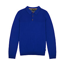 Buy Ted Baker Harvel Stitch Long Sleeve Polo Shirt Online at johnlewis.com