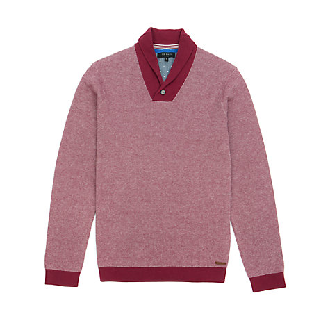 Buy Ted Baker Hortie Shawl Neck Jumper Online at johnlewis.com