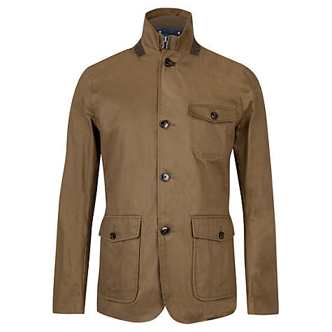 Buy Ted Baker Greleaf Coat, Brown Online at johnlewis.com