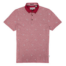 Buy Ted Baker Yaypolo Paisley Polo Top Online at johnlewis.com