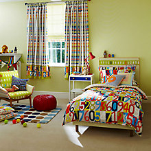 Buy Harlequin Sum It Up Abacus Duvet Cover and Pillowcase Set Online at johnlewis.com