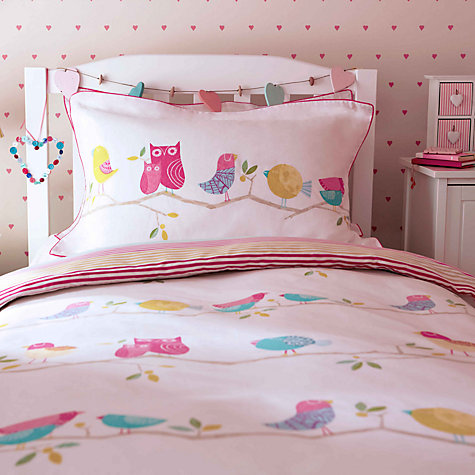 Buy Harlequin What A Hoot Owls Duvet Cover and Pillowcase Set Online at johnlewis.com