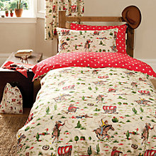 Buy Cath Kidston Cowboy Duvet Cover and Pillowcase Set Online at johnlewis.com