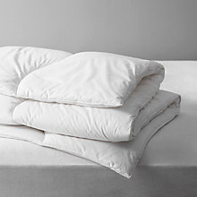 Buy John Lewis The Basics Microfibre Duvets, 10.5 Tog Online at johnlewis.com