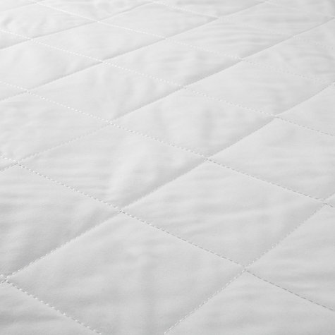 Buy John Lewis The Basics Microfibre Mattress Protector, Depth 32cm Online at johnlewis.com