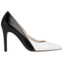 Buy L.K. Bennett Jennie Colour Block Leather Court Shoes Online at johnlewis.com