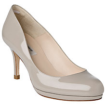 Buy L.K.Bennett Sybila Slender Platform Court Shoes, Patent Clay Online at johnlewis.com