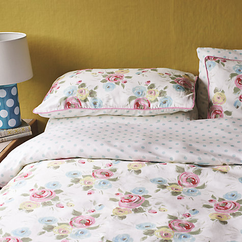 Buy Cath Kidston Painterly Rose Bedding Online at johnlewis.com