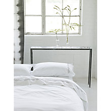 Buy Designers Guild Veneta Embroidered Flat Sheet Online at johnlewis.com