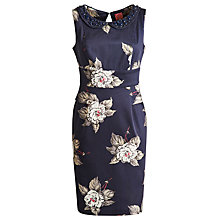Buy Joules Francesca Dress, Navy Bloom Online at johnlewis.com