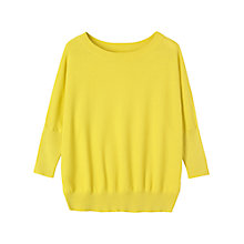 Buy Toast Cotton Pique Knit, Lemon Online at johnlewis.com