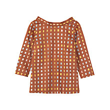 Buy Toast Ikat Top, Lemon/Cornflower Online at johnlewis.com