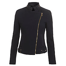 Buy BOSS Jatilda Biker Jacket Online at johnlewis.com