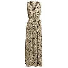 Buy Hoss Intropia Square Print Dress, Ivory Online at johnlewis.com