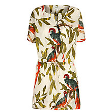 Buy Hoss Intropia Parrot Tunic Dress, Multi Online at johnlewis.com