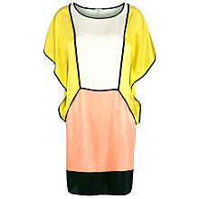 Buy Hoss Intropia Colour Block Dress, Multi Online at johnlewis.com