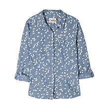 Buy Seasalt Gardener Shirt, Florence Birds Indigo Online at johnlewis.com