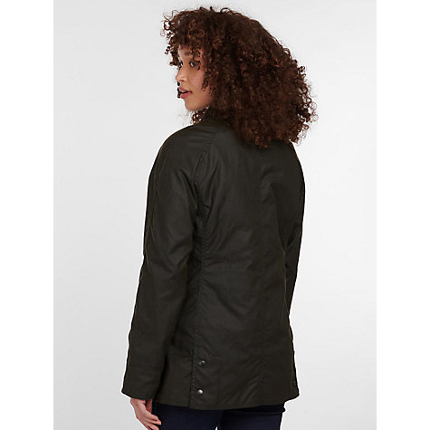 Buy Barbour Beadnell Waxed Jacket Online at johnlewis.com