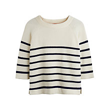 Buy Joules Merrin Top, Navy Stripe Online at johnlewis.com