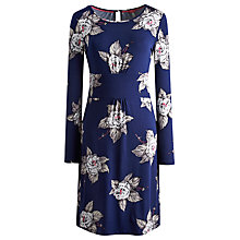 Buy Joules Abbey Dress, Navy Bloom Online at johnlewis.com