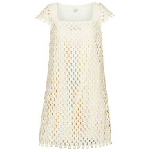 Buy Hoss Intropia Crochet Dress, Ivory Online at johnlewis.com