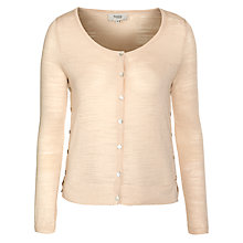 Buy Hoss Intropia Button Detail Cardigan, Ivory Online at johnlewis.com