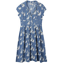 Buy Seasalt Lottie Dress, Working Boats Dusk Online at johnlewis.com