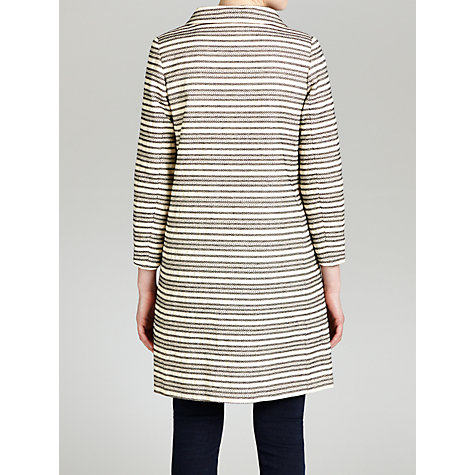 Buy Hoss Intropia Stripe Jacket, Ivory Online at johnlewis.com