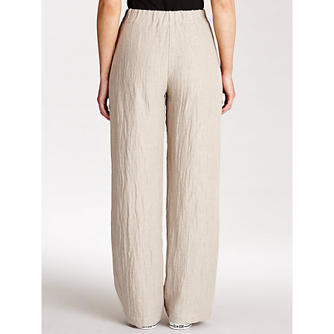Buy Crea Concept Wide Leg Trouser, Grey Online at johnlewis.com