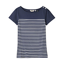Buy Seasalt Breakwater Top, Gateway Navy French Online at johnlewis.com