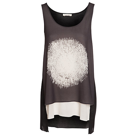 Buy Crea Concept Large Spot Top, Black Online at johnlewis.com