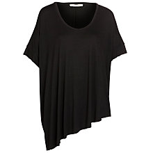 Buy Crea Concept Slouchy T-Shirt, Black Online at johnlewis.com