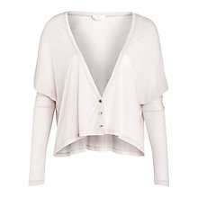 Buy Charli Cashmere Ainsley Cardigan, Chalk Online at johnlewis.com