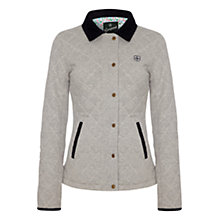 Buy Rampant Sporting Heritage Quilted Jacket, Grey Marl Online at johnlewis.com