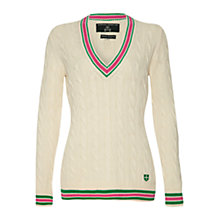 Buy Rampant Sporting Heritage Whitby Cricket Jumper Online at johnlewis.com