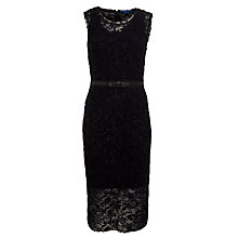 Buy Winser Embroidered Lace Dress, Midnight Online at johnlewis.com